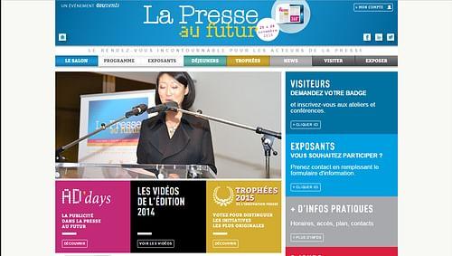 La Presse Au Futur - Création de site internet