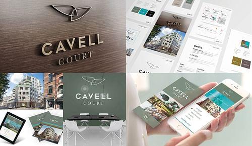 Cavell Court - Image de marque & branding