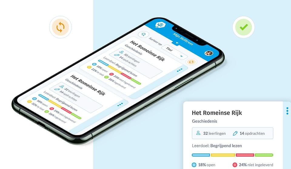 Skilltree - Een app die leren leuk maakt