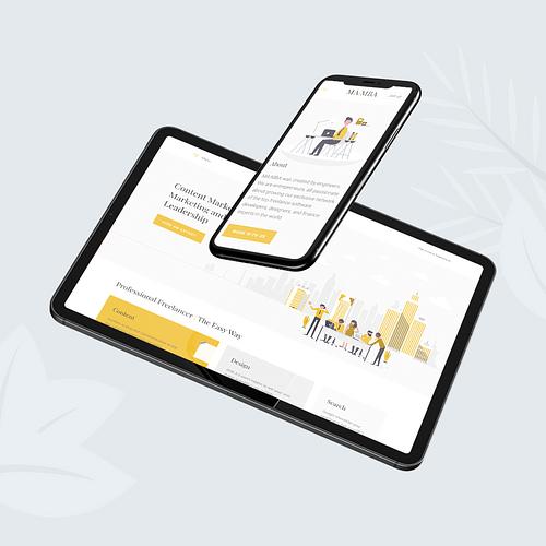 Mamba Marketing - Website Creation