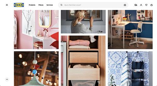 IKEA - Tests Utilisateurs - Création de site internet