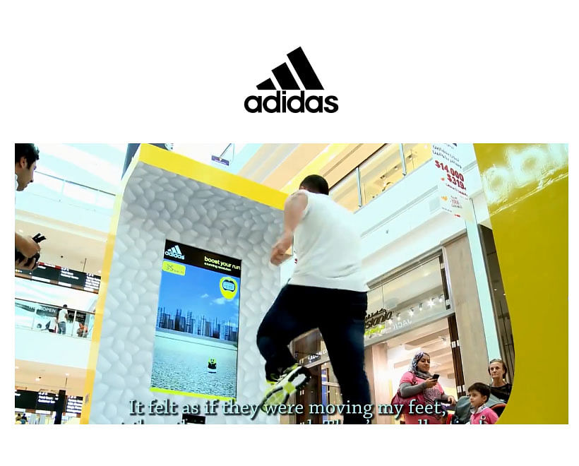 Adidas New Running Shoes Activation