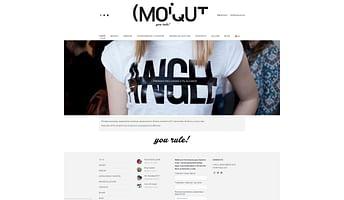 Diseño web / Tienda de moda Y/ Bilbao