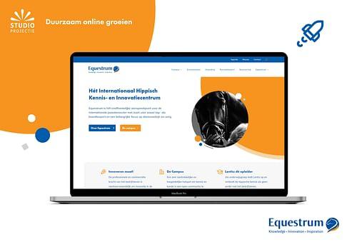 Webdesign & Branding Equestrum - Website Creatie