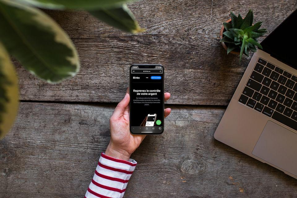 Mobile First website - Banque en ligne