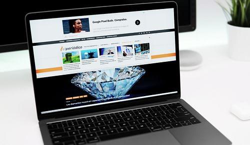Creación Web  y Hosting para periódico Online - Estrategia digital