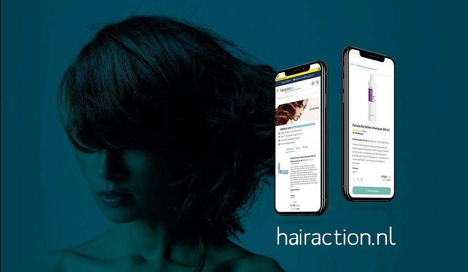 Hairaction | Magento 2  B2B & B2C webshop