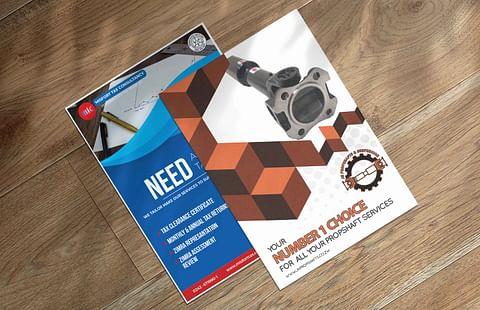 Flier Design for Misfort Tax Consultancy