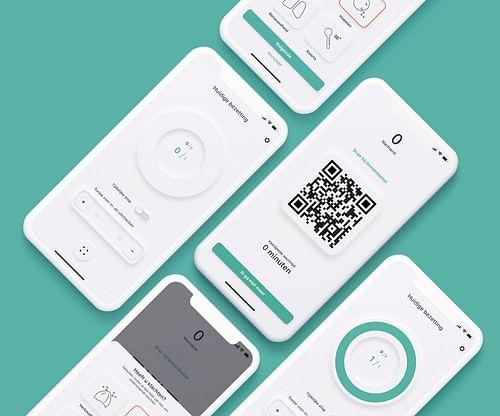Spaze app - Webdevelopment & Mobile application - Mobile App