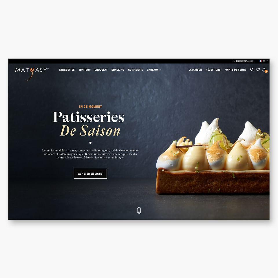 Création Site E-commerce pour Matyasy