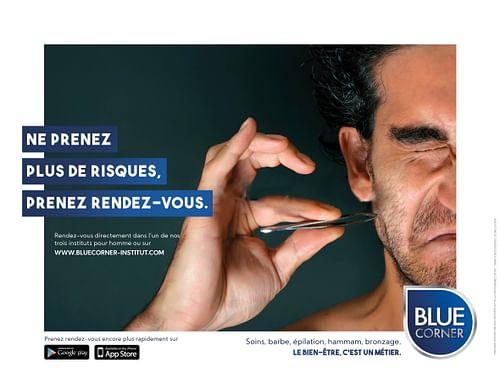 #LeBienEtreCestUnMétier - Blue Corner (proactive) - Publicité