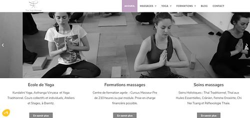Thai Yoga massage - Référencement naturel
