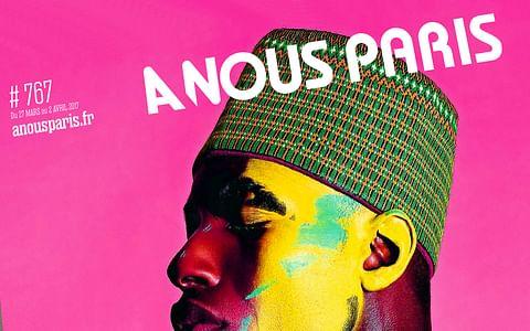 Identité et design de presse A Nous Paris