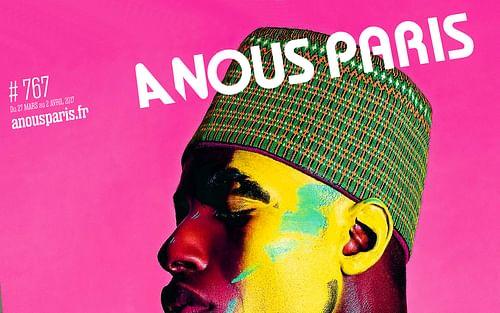 Identité et design de presse A Nous Paris - Publicité