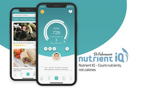 NutrientIQ - Dr Fuhrman's Nutrient IQ System - Mobile App