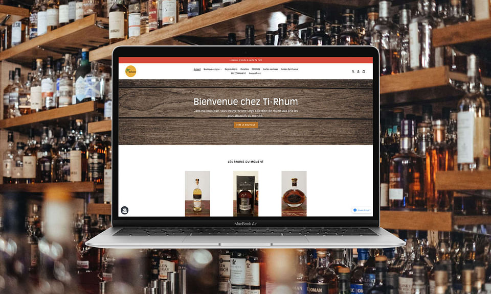 Création e-shop