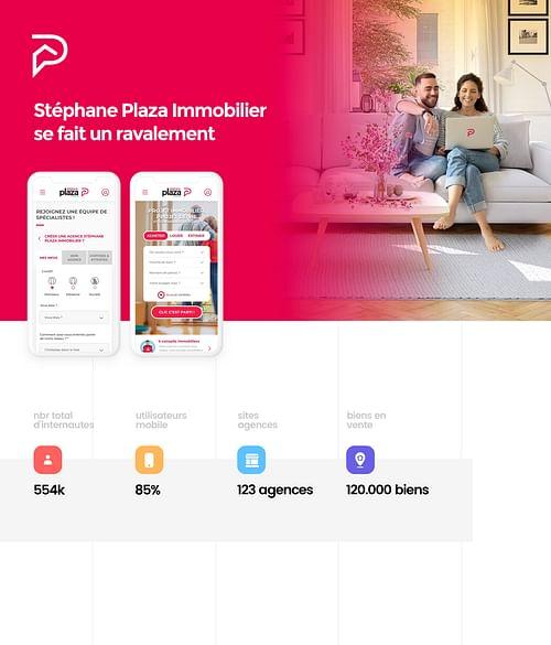Stéphane Plaza Immobilier - Création de site internet