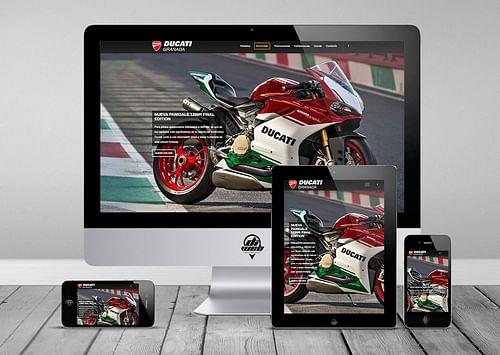 Ducati Granada - Creación de Sitios Web