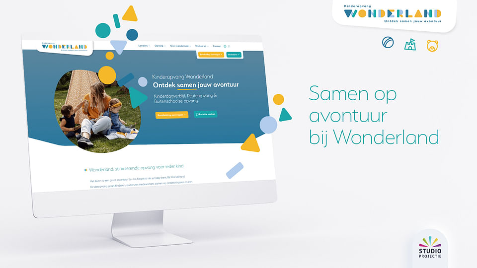 Website Creatie & SEO - Wonderland Kinderopvang