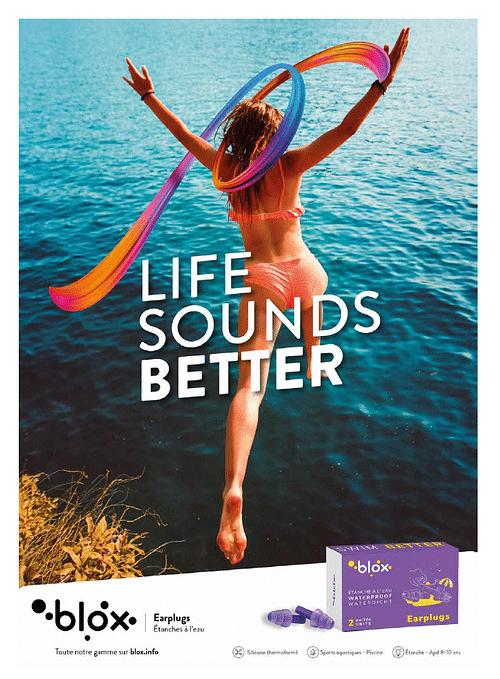 Blox. Life sounds better. - Image de marque & branding