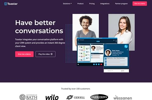 Marketing strategy and execution for SAAS startup - Website Creatie