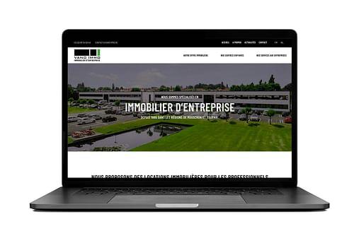 Site vitrine - VANO IMMO - Création de site internet