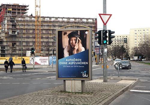 myblu | Out-of-Home-Kampagne - Markenbildung & Positionierung