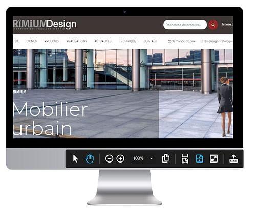 Refonte site mobilier Urban  Primium - Création de site internet