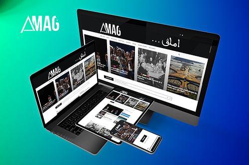 E-MAGAZINE : AMAG, Refonte site Web - Création de site internet