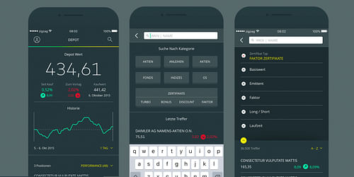 comdirect Trading App - Innovation
