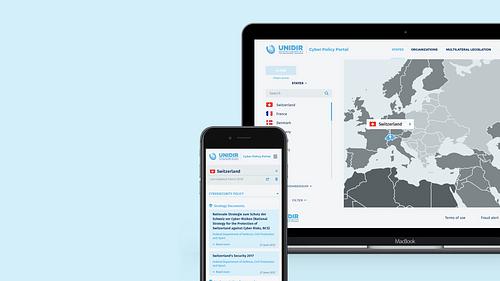 UN -Unidir - Développement web - Création de site internet