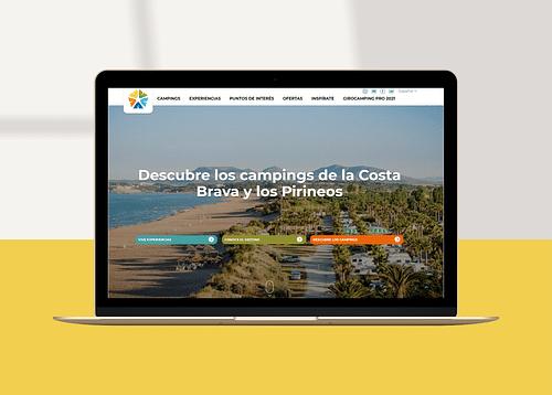 Estrategia Digital: Campings Girona - Digital Strategy
