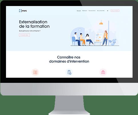 Groupe Cimes - Création de site internet