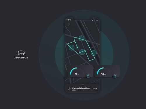 Macaron - Application mobile