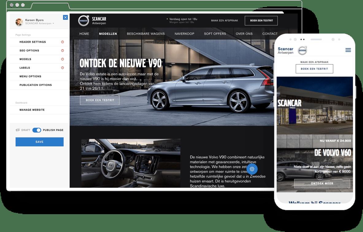 68 websites – all at once - Stratégie digitale