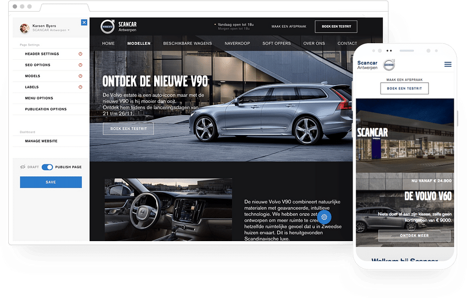 68 websites – all at once