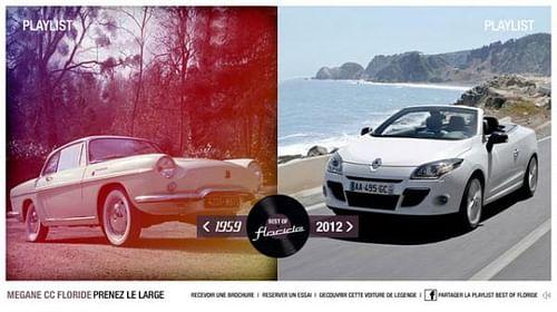 Renault Megane CC Floride - Advertising