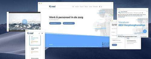 Website creation for Koraal PMS - Ergonomie (UX / UI)
