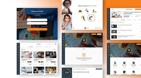 Website, Tablet App & CMS: Online2study