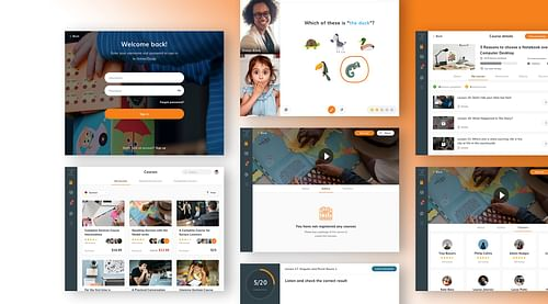 Website, Tablet App & CMS: Online2study - Mobile App