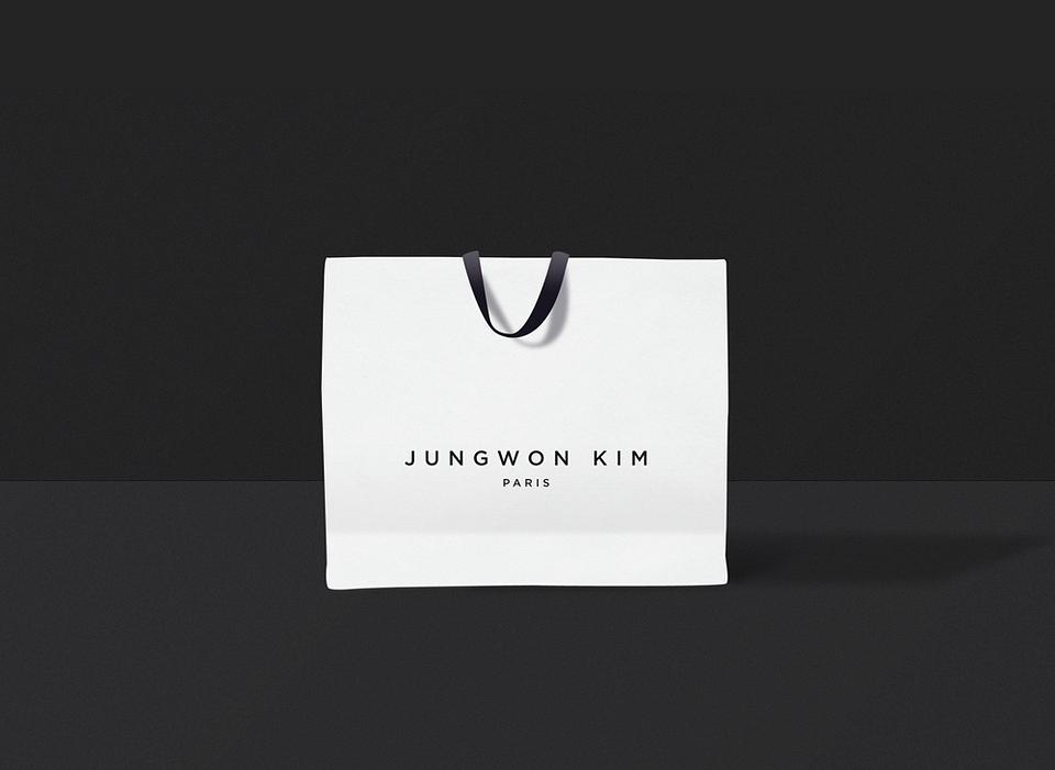 Identité visuelle et packaging pour Jungwon Kim.