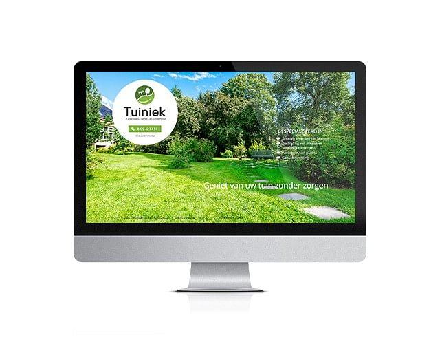Logo design - tuiniek