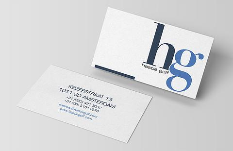 Hastie Golf - Corporate Image
