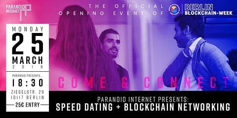 Paranoid Internet Presents: Speed Dating