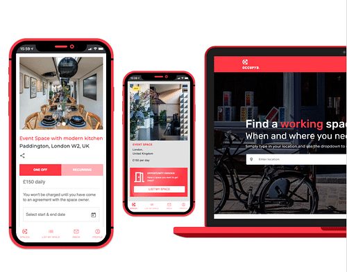 Building a marketplace for business space - Mobile App