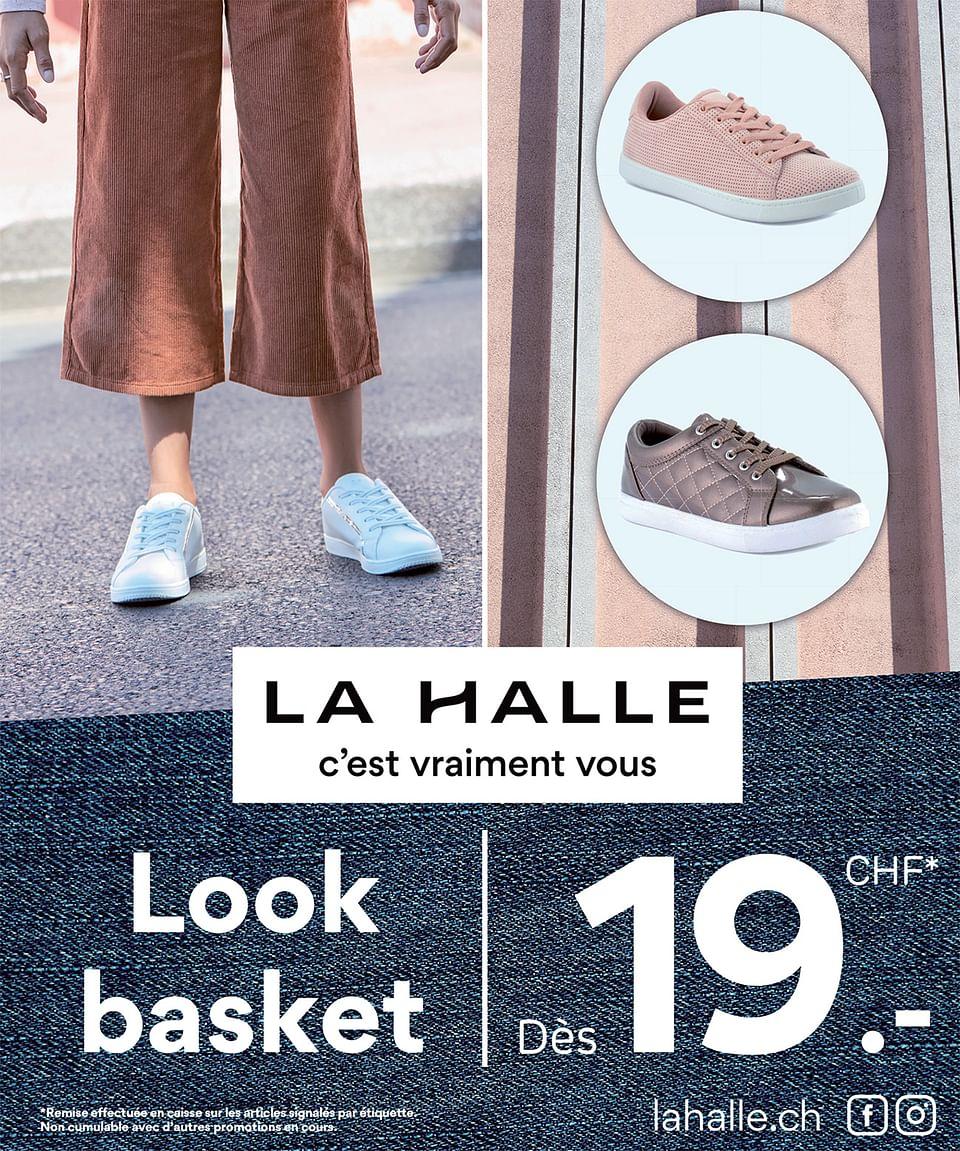 Marketing pour La Halle suisse