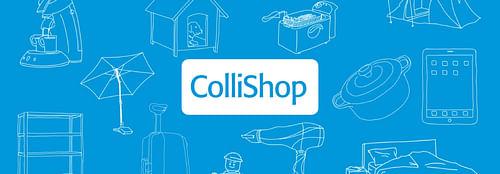 Collishop - content strategy & content website - Création de site internet