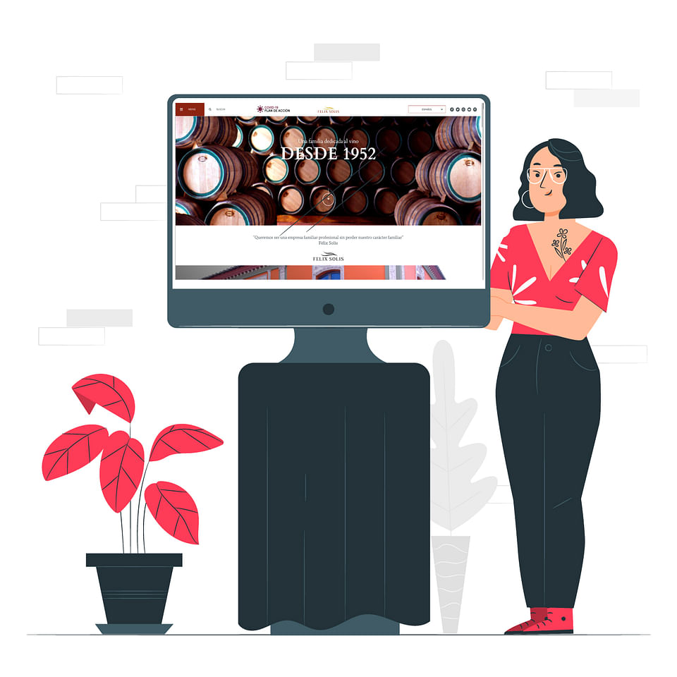 Estrategia Online Diseño Web Empresa Referente