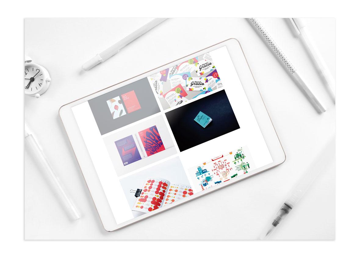 Página web conforme a diseño
