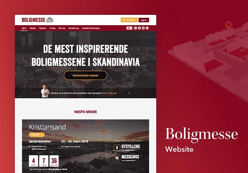 Boligmesse - Creación de Sitios Web